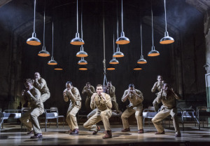 FROM HERE TO ETERNITY,           ,  Lyrics – Tim Rice, Music – Stuart Brayson, Book – Bill Oakes, Director – Tamara Harvey, Designer – Soutra Gilmour, Choregrapher – Javier De Frutos, Lighting – Bruno Poet, London, 2013, Credit: Johan Persson/