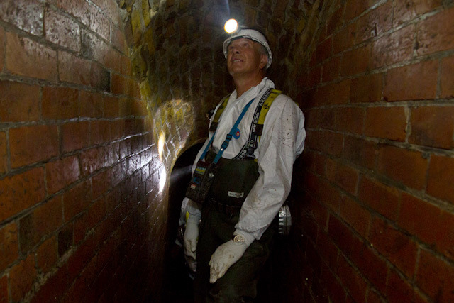 Thames Water flusher Rob