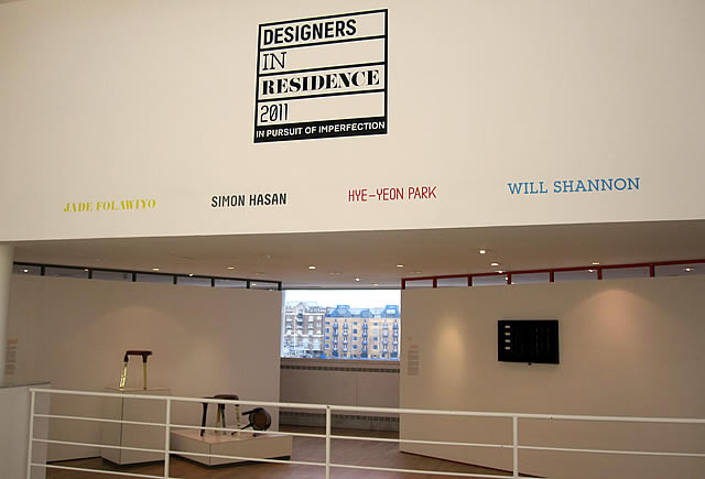 Designers in Residence at the Design Museum