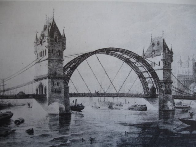 Alternative design for Tower Bridge