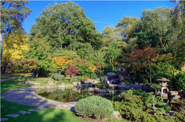 Kyoto Garden, Holland Park by Yorkshire Stacked