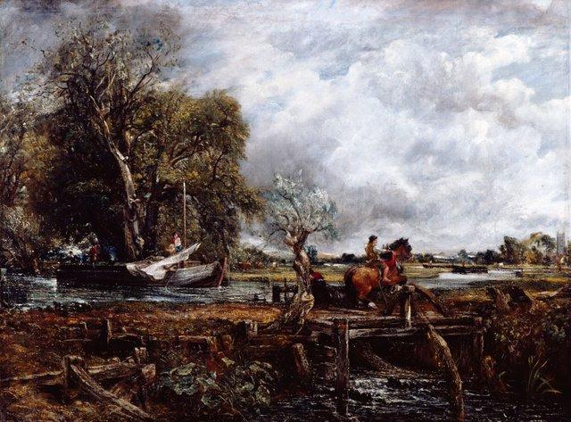 03/1391  PL000938  John Constable R.A.,  The Leaping Horse, 1825  Oil on canvas, 142 x 187.3 cm  Photo: John Hammond �© Royal Academy of Arts, London