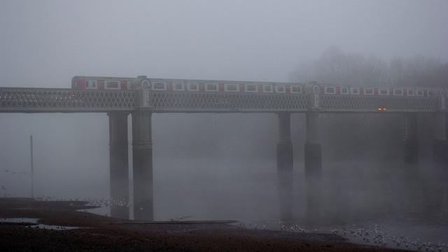 River crossing, by Ian Wylie