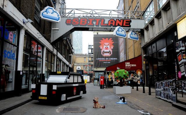8 Bit Lane / Brick Lane