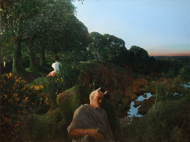 Martin Greenland, Even Over Eden, 2004-11. Courtesy Mall Galleries.