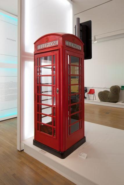 K6 Kiosk designed by Sir Giles Gilbert Scott. Image courtesy Design Museum.