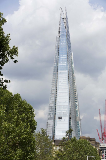 The Shard, London, UK Designed by Renzo Piano. Image courtesy Design Museum