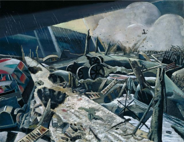 Paul Nash The Void 1918. Image courtesy National Gallery of Canada.