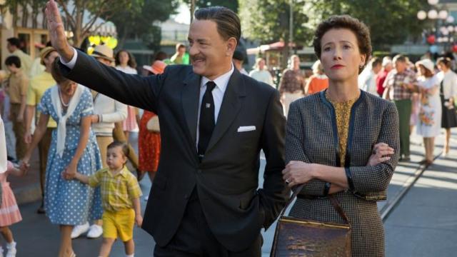 Disney's Saving Mr Banks, starring Tom Hanks and Emma Thompson, closes this year's LFF