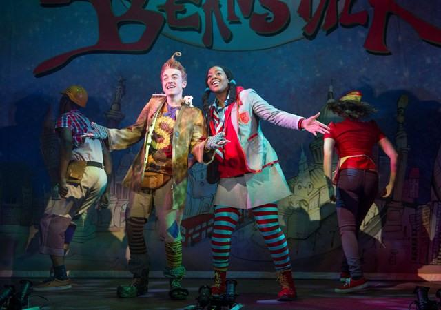 A scene from Jack and the Beanstalk @ Lyric Theatre, Hammersmith. (Opening 27-11-13) (©Tristram Kenton 11-13) 3 Raveley Street, London NW5 2HX. Tel: 02072675550 mobile: 07973617355. email: tristram@tristramkenton.com