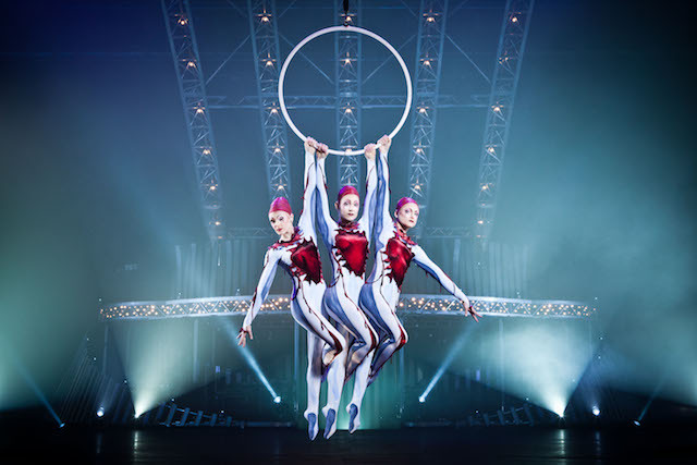 Photo: Matt Beard and Costumes Dominique Lemieux ©2011 Cirque du Soleil