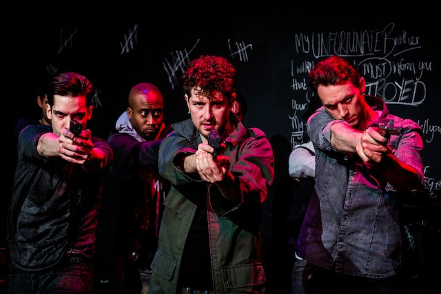 27th January 2014. Faction present Robbers as part of Rep 2014 at The New Diorama Theatre Photo Credit ©Richard Davenport