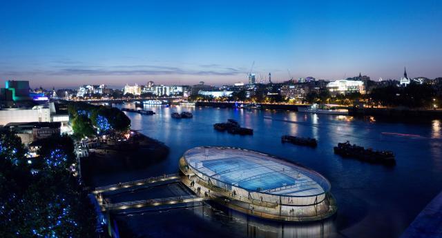 Thames Lido design by Lifschutz Davidson Sandilands