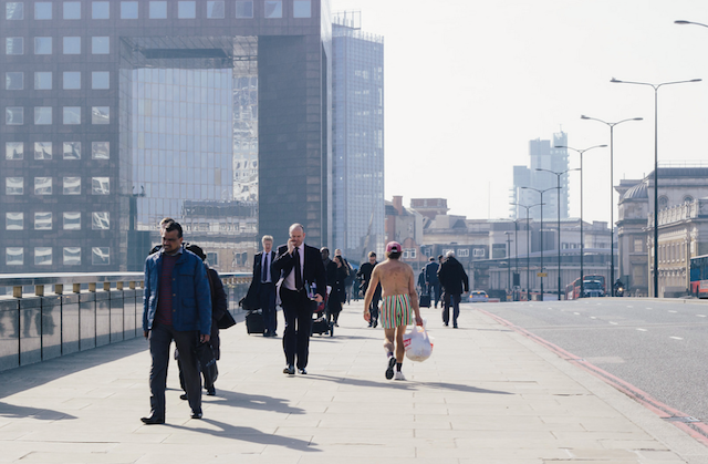 Not a sight we often see on our morning commute over London Bridge, by James Drew on Flickr