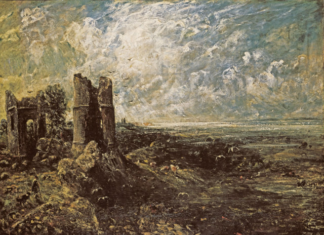 Sketch for 'Hadleigh Castle'