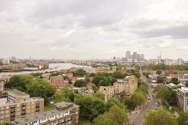 View from Casby House, Bermondsey
