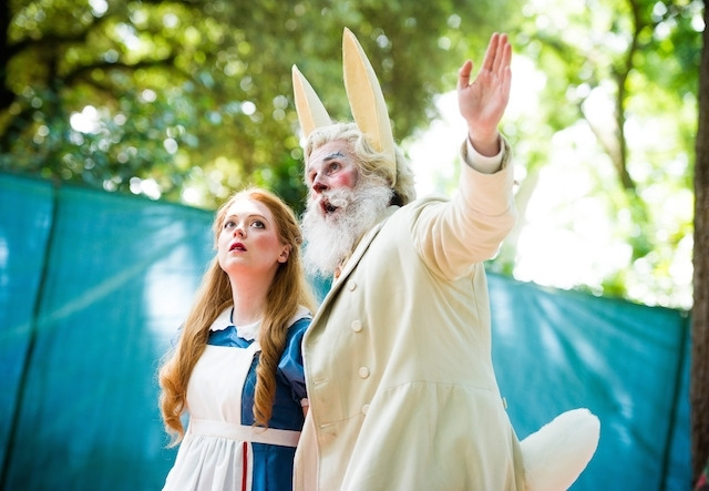 Opera Holland Park - Alice's Adventures in Wonderland dir Martin Duncan © Alex Brenner, please credit (_D3C1941)