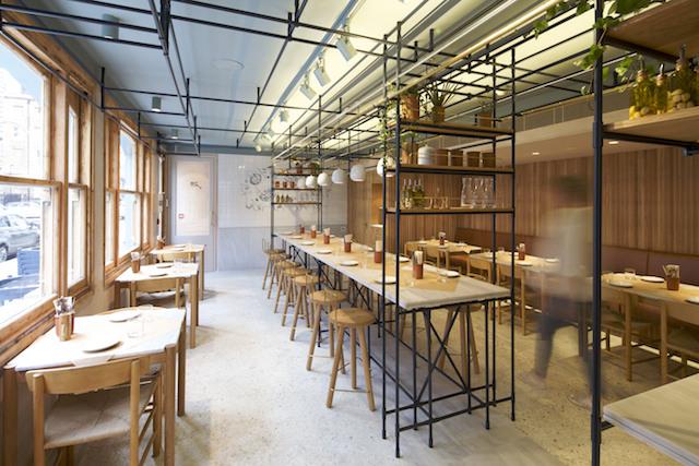 Opso 1 restaurant - main dining room