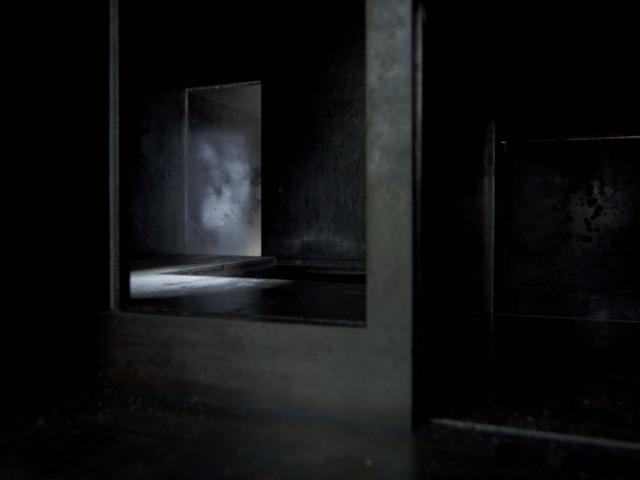 Antony Gormley, Model (interior view). Image courtesy White Cube