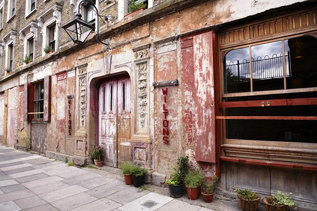 Wilton's front door. Photo by James Perry
