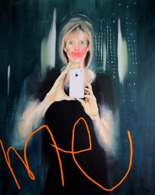 George Morton Clark, Selfie. Image courtesy of the artist & Imitate Modern