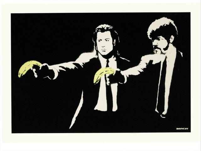 Banksy, Pulp Fiction. 2004.