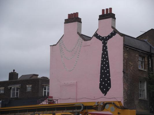 Deptford tie mural