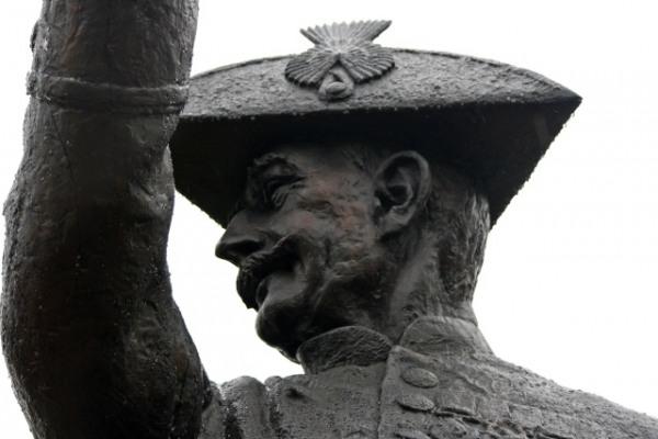 Chelsea Pensioner statue
