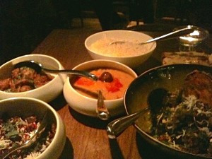 Trishna 4 assorted dishes