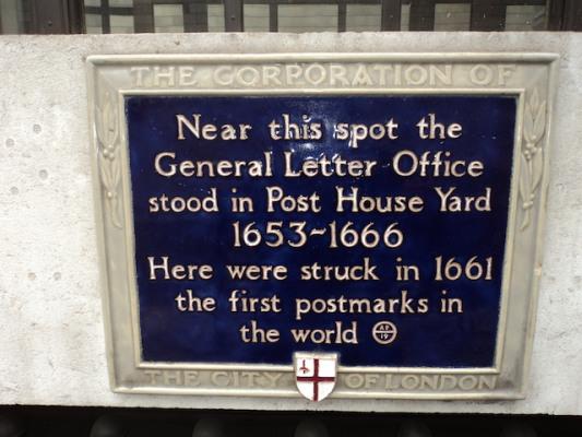 Bishop Mark plaque