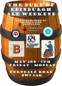 dukeADuke of Edingurgh Ale Weekend