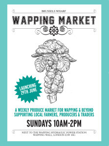 Wapping Market poster 1