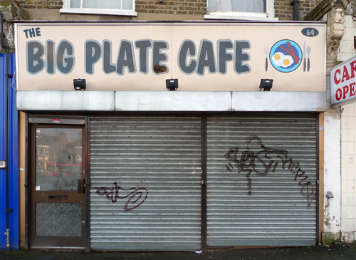 The Big Plate Café, Brockley Rise by Emily Webber in the Londonist Flickr pool.