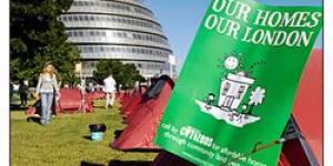 'Tent City' At City Hall