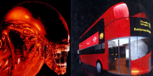 Alien Versus Routemaster