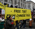 Arrests At Tibet Protests