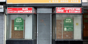 Trading Posts: on Empty Shops