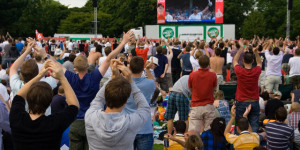In Pictures: Cricket In The Park