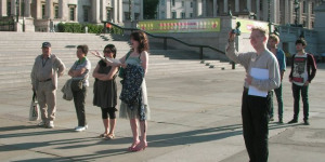 One And Other: Londonist On The Plinth, The Morning Shift