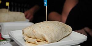 Take Away Burrito Sampling at Canary Wharf's Wahaca