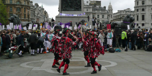 In Pictures: Take Back Parliament Rally & Westminster Day Of Dance In Trafalgar Square
