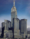 Big Ben Dwarfed By Mecca Superclock