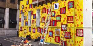 New Work By Eine On Middlesex Street