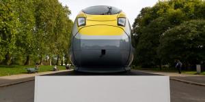 In Pictures: New Eurostar Train At Albert Memorial