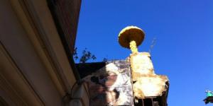 London Street Art Guide: 5. Christiaan Nagel's Mushrooms