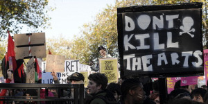 In Pictures: Student Protest Against Tuition Fees