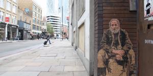 Street Art: Take Home A Homeless Person