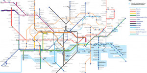Alternative Tube Maps: London In 2100