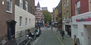 London Poetry: Poem Looked Up On Google Streetview By Ross Sutherland