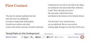 Celebrate 25 Years Of Poems On The Underground